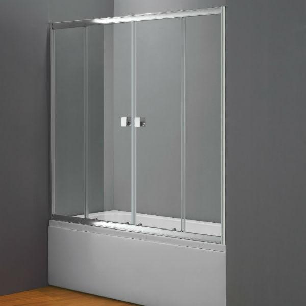 resguardo de banheira frontal deslizante titan. Black Bedroom Furniture Sets. Home Design Ideas