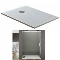 Base de duche Alexia + Resguardo frontal 1F+1D BASIC