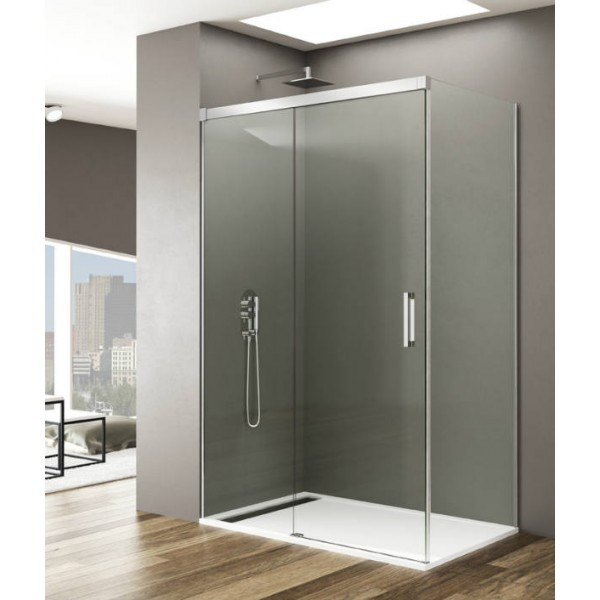 resguardo duche frontal vidro f d modelo basic online na asealia. Black Bedroom Furniture Sets. Home Design Ideas